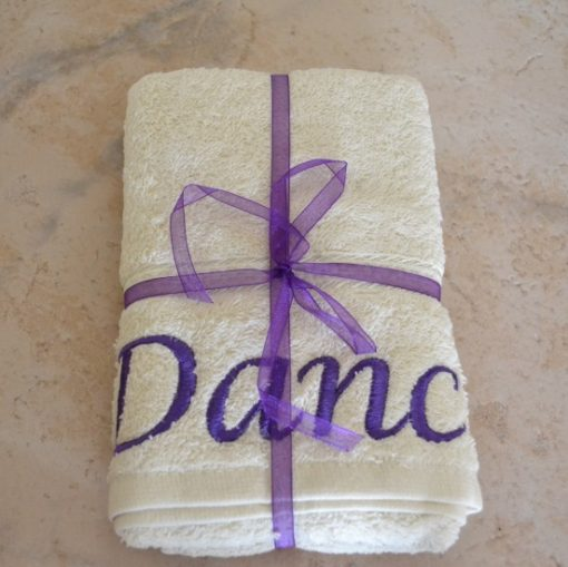 EK Dance Academy Dance Towel