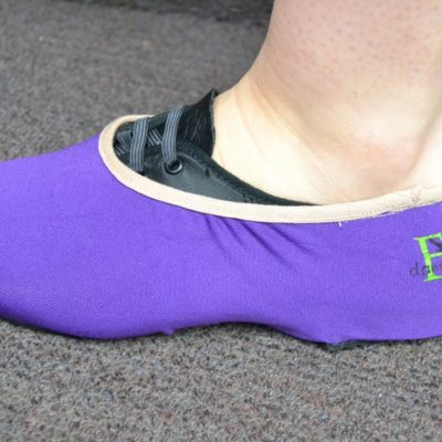 EK Dance Academy Jazz Shoe Covers