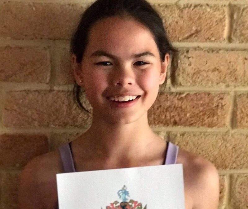 Scholarship Award for EK Dance Student